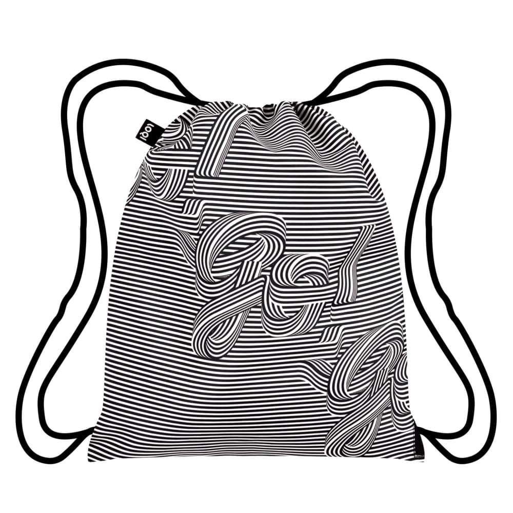 Loqi Backpack Type Hype Collection - Go Go Go,Drawstring Bag, Loqi - Yum Yum Store