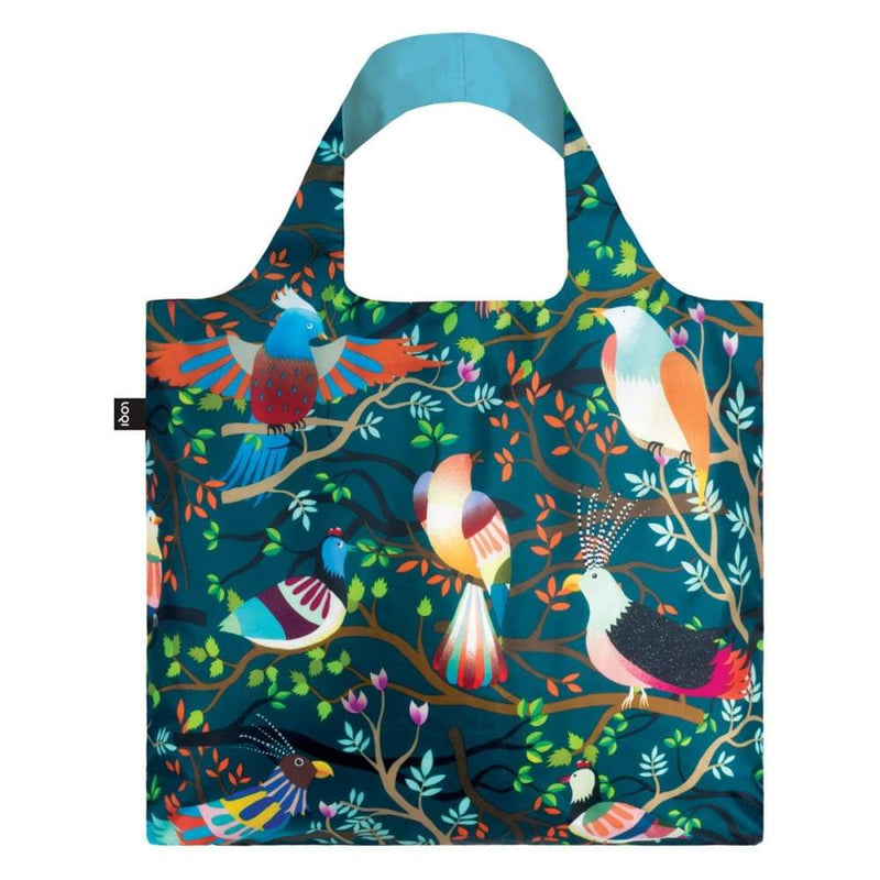 Loqi Reusable Shopping Bag Hvass & Hannibal Collection - Birds,Reusable Shopping Bag, Loqi - Yum Yum Store