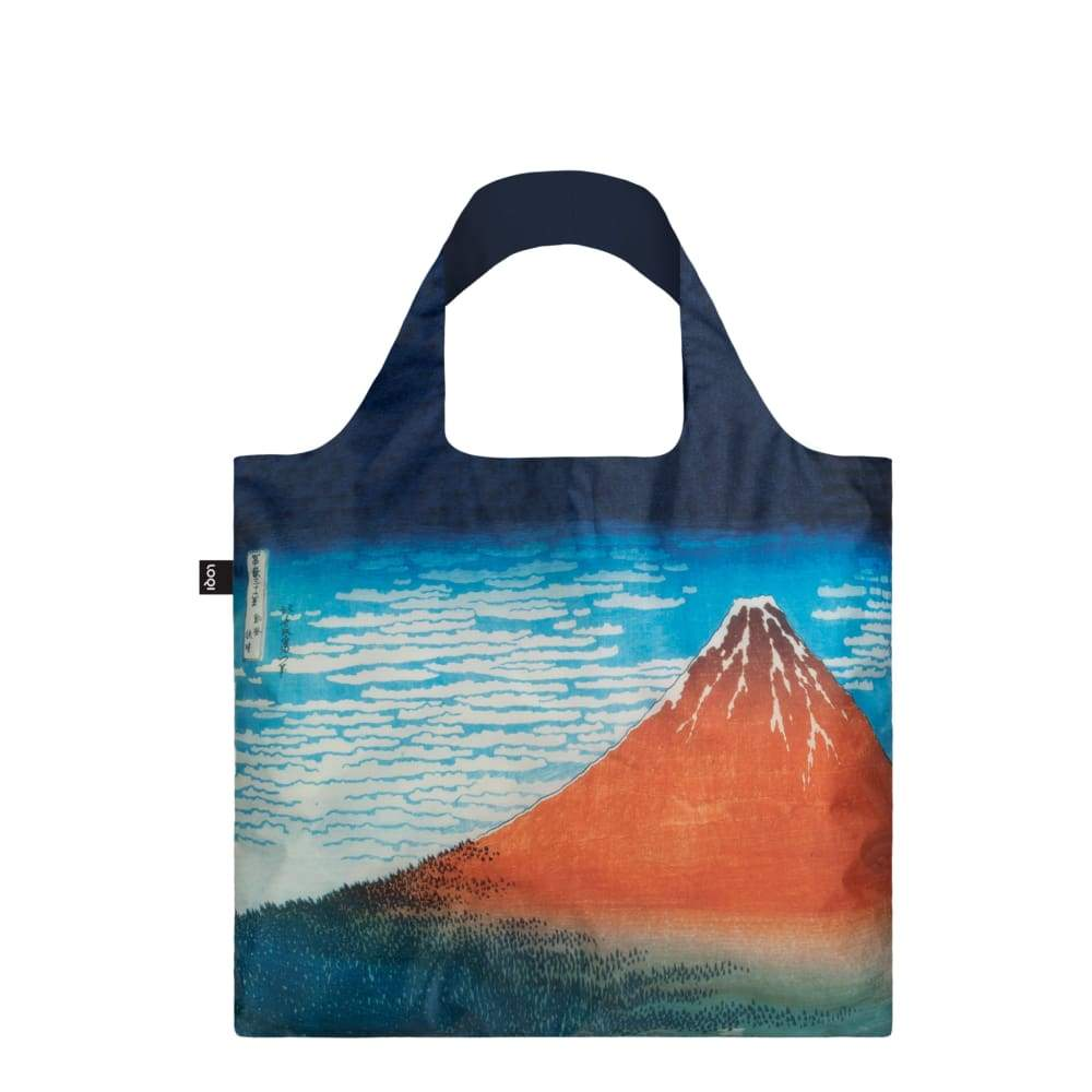 Loqi Reusable Shopping Bag Red Fuji