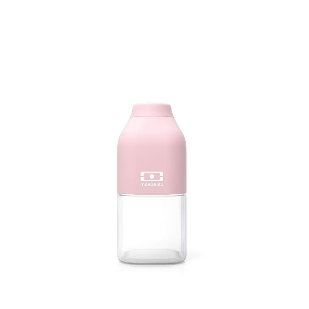 MB Positive S Water Bottle 330ml Litchi Pink,Plastic Water Bottle, Monbento - Yum Yum Store
