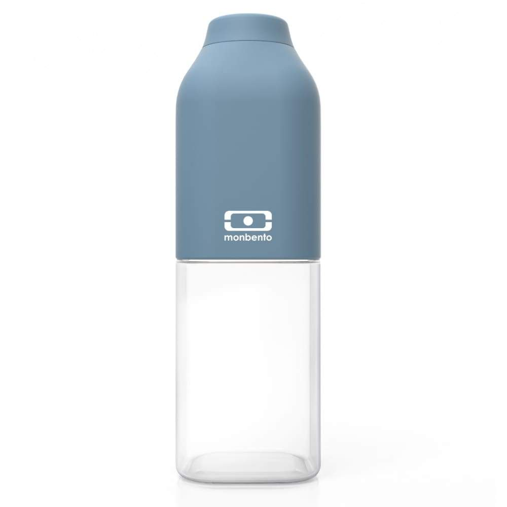 Monbento: Mb Positive M 500ml Denim,Plastic Water Bottle, Monbento - Yum Yum Store