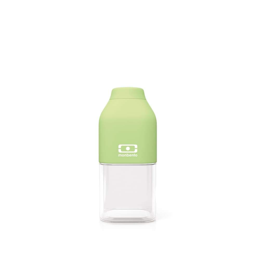 Monbento: MB Positive S Water Bottle 330ml Apple,Plastic Water Bottle, Monbento - Yum Yum Store
