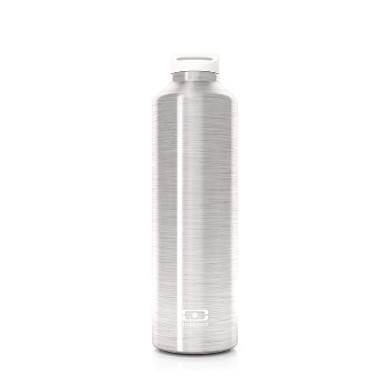 Monbento Mb Steel 500ml Silver,Stainless Steel Water Bottle, Monbento - Yum Yum Store