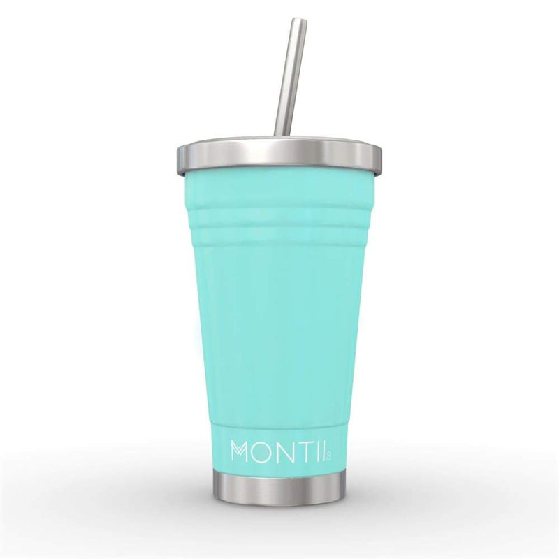 Montii Co. Insulated Smoothie Cup 450ml Teal PRE ORDER,Cup, Montii - Yum Yum Store