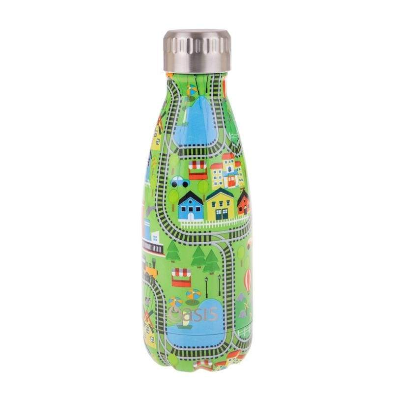 Oasis Stainless Steel Insulated Drink Bottle 350ml City,Stainless Steel Water Bottle, Oasis - Yum Yum Store