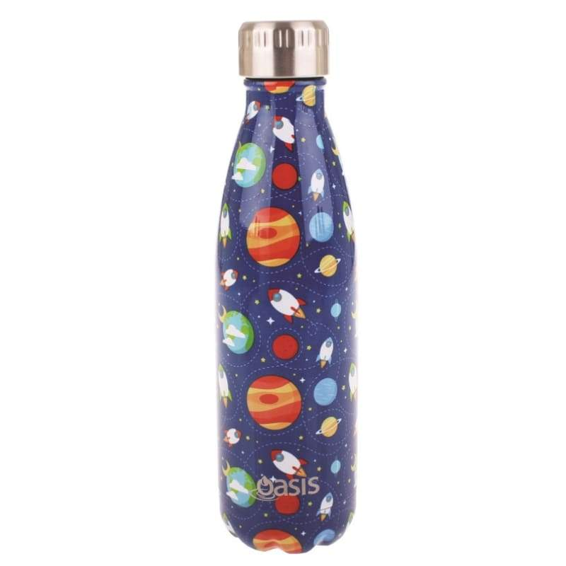 Oasis Stainless Steel Insulated Drink Bottle 500ml - Outer Space,Stainless Steel Water Bottle, Oasis - Yum Yum Store