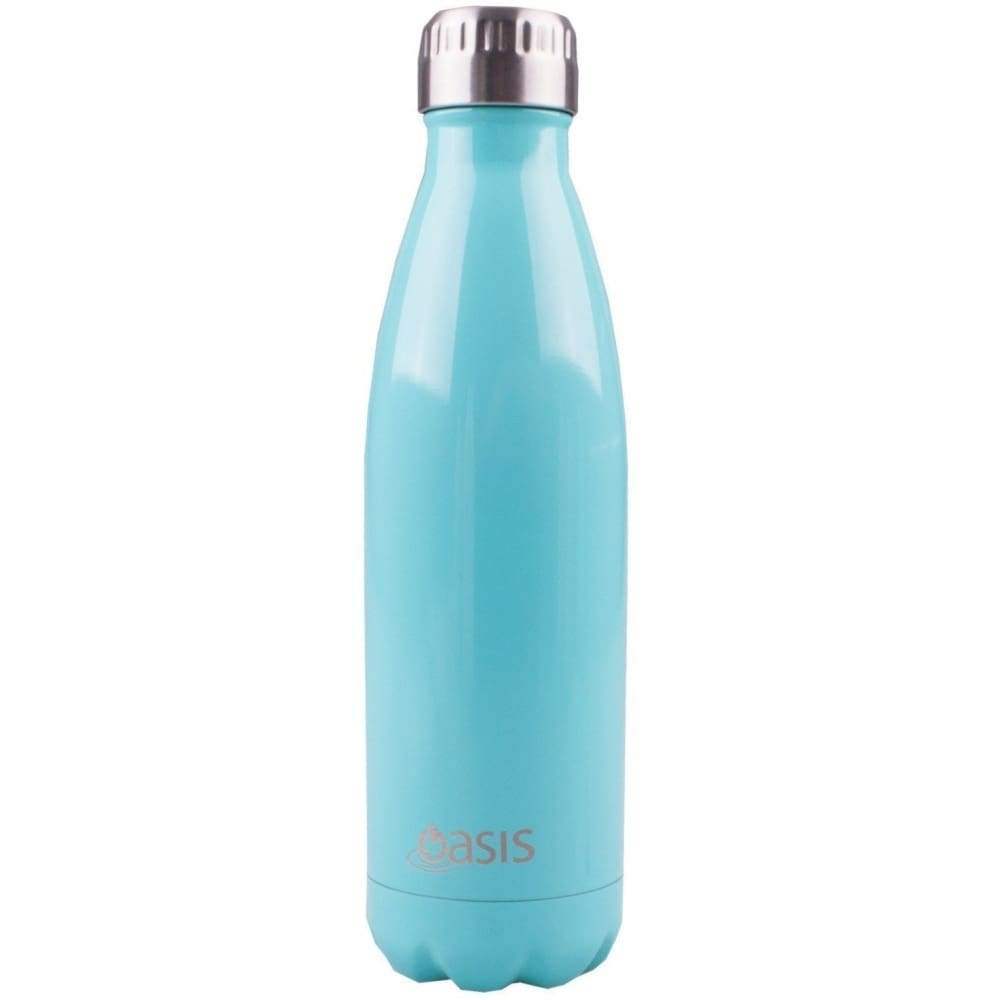 Oasis Stainless Steel Insulated Drink Bottle 500ml Spearmint