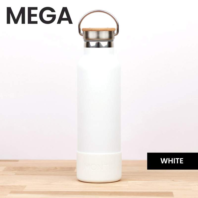Montii Co. MEGA SIZE Bottle Bumper White