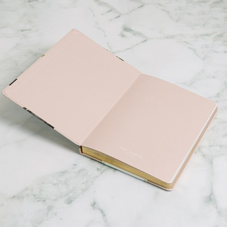 Ted Baker A5 Notebook Opal Pink,Notebook, Ted Baker - Yum Yum Store