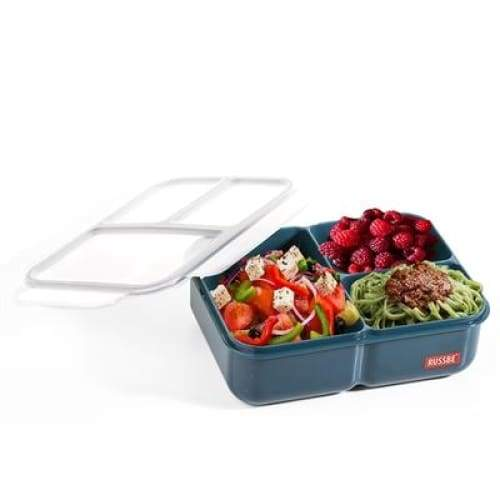 Russbe Lunchbox Bento 3 Compartment 1.6L Navy