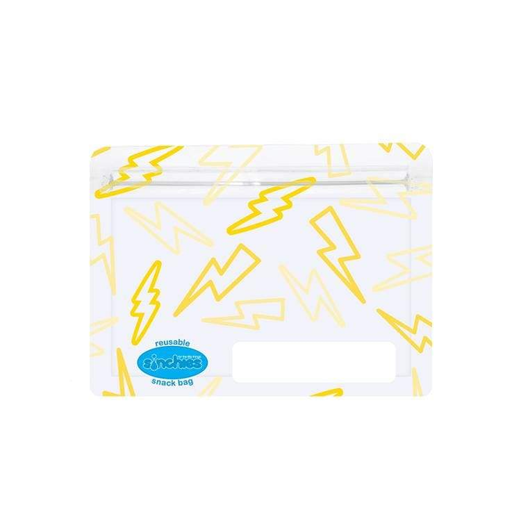 Sinchies Reusable Snack Bags 5 Pack Lightning Bolts