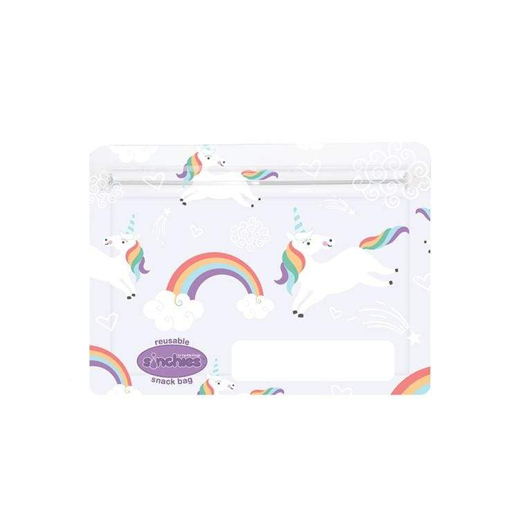 Sinchies Reusable Snack Bags 5 Pack Unicorns
