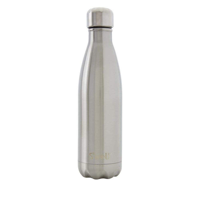 S'well Insulated Drink Bottle Shimmer Collection  - 500ml Silver Lining,Water Bottle, S'well - Yum Yum Store