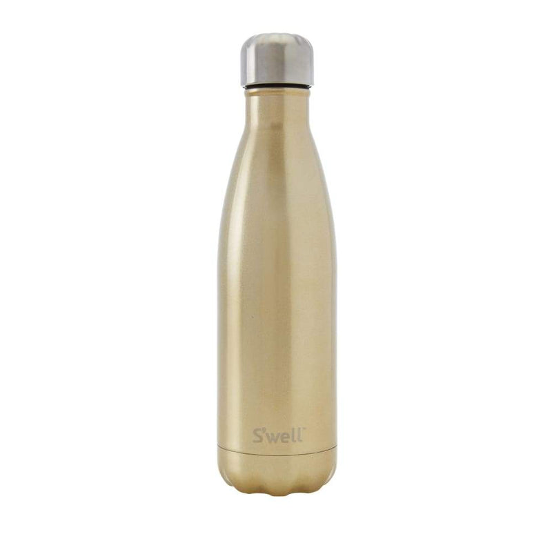 S'well Insulated Drink Bottle Shimmer Collection  - 500ml Sparkling Champagne,Water Bottle, S'well - Yum Yum Store
