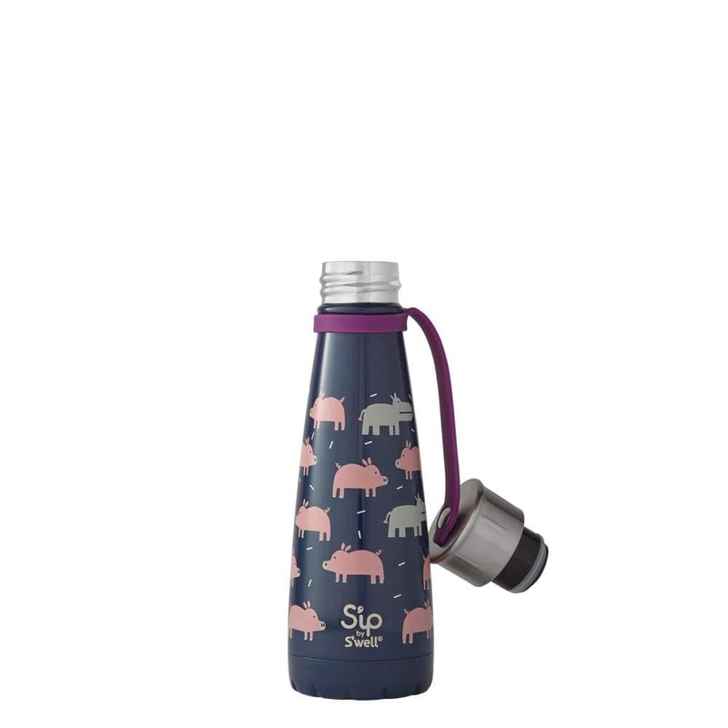 S'well S'IP Insulated Water Bottle 295ml This Little Piggy