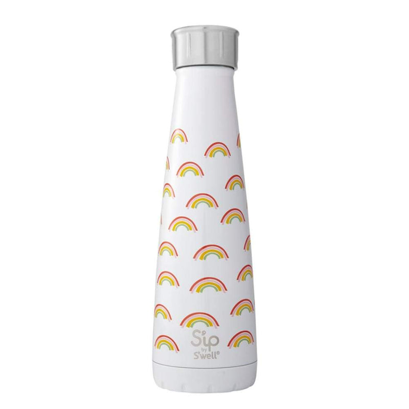 S'well S'IP Insulated Water Bottle 450ml Chasing Rainbows,Stainless Steel Water Bottle, S'well - Yum Yum Store