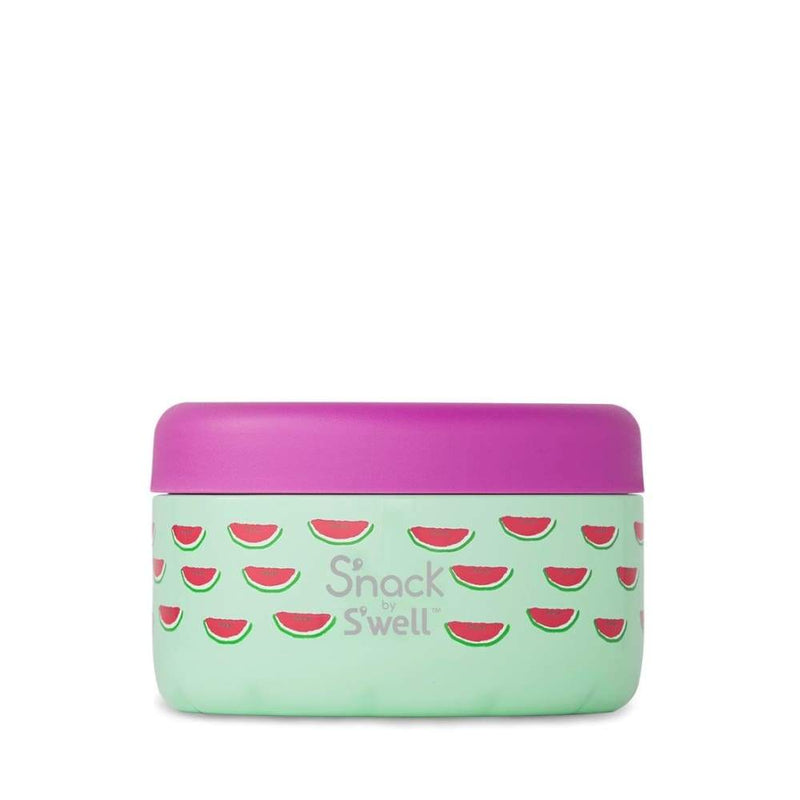 S'well S'Nack Insulated Food Container 295ml Slice of Life,Insulated Food Flask, S'well - Yum Yum Store