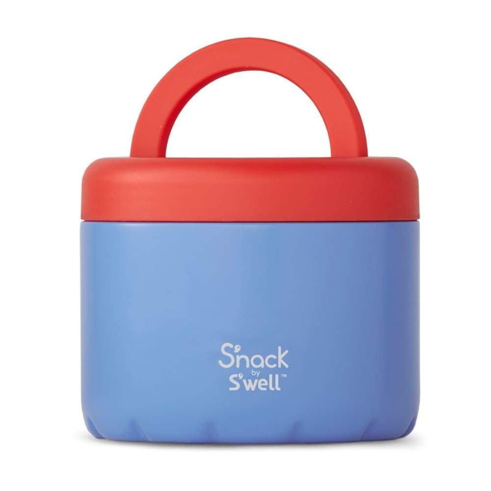 S'well S'Nack Insulated Food Container 710ml Blue Cornflower,Insulated Food Flask, S'well - Yum Yum Store
