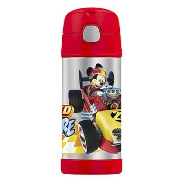 Thermos Funtainer Stainless Steel Vacuum Insulated Straw Drink Bottle Mickey,Stainless Steel Water Bottle, Thermos - Yum Yum Store