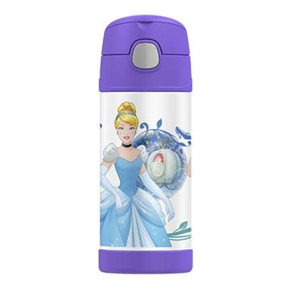 Thermos Funtainer Stainless Steel Vacuum Insulated Straw Drink Bottle Princess,Stainless Steel Water Bottle, Thermos - Yum Yum Store