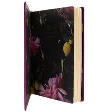 Ted Baker A5 Bright Purple Lined Notebook,Notebook, Ted Baker - Yum Yum Store