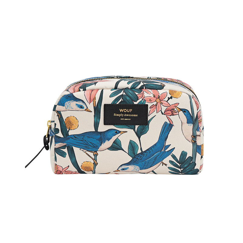 Wouf Big Beauty Birdies Makeup Bag,Toiletry Bag, Wouf - Yum Yum Store