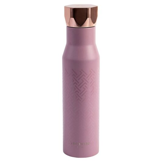 Ted Baker Water Bottle Hexagonal Pink 750ml