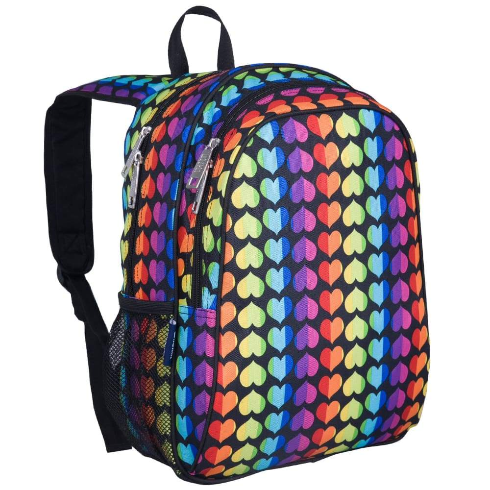 Wildkin Handypak Backpack Rainbow Hearts,Backpack, Wildkin - Yum Yum Store