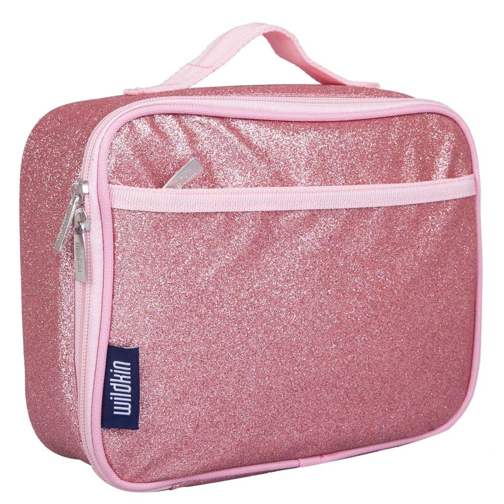 Wildkin Insulated Kids Lunchbox Pink Glitter