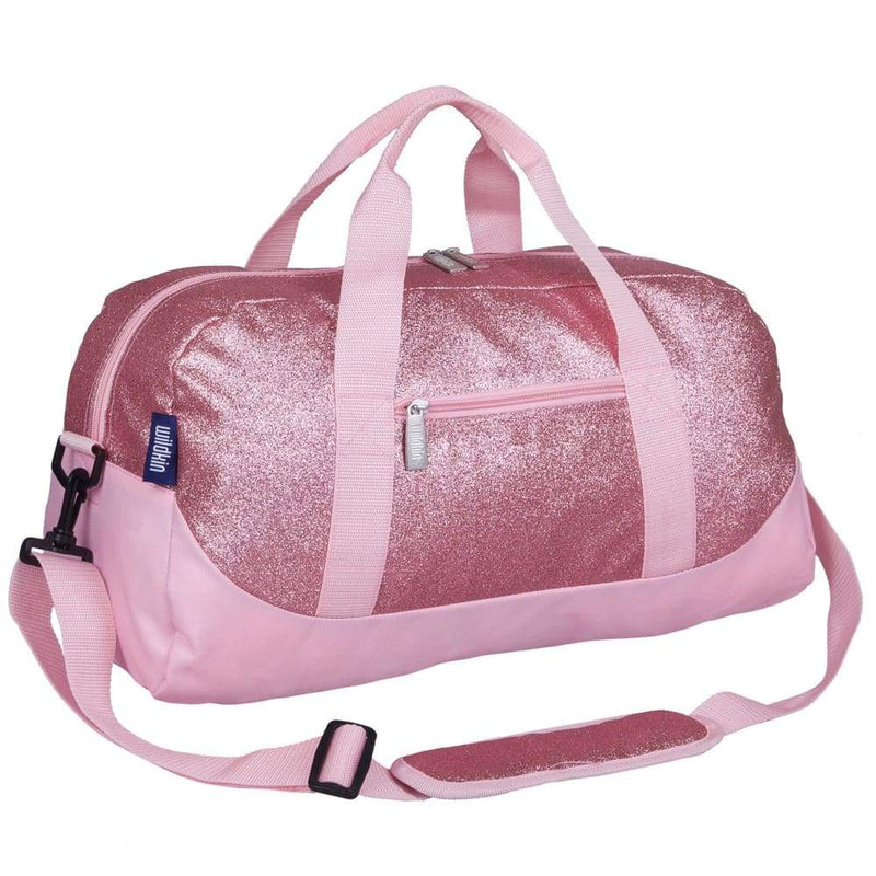 Wildkin Overnight Duffle Bag Pink Glitter,Duffle Bag, Wildkin - Yum Yum Store
