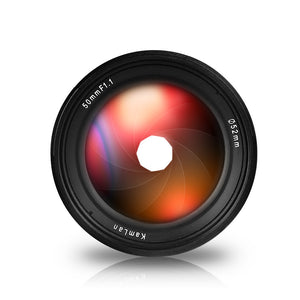 Kamlan 50mm F/1.1 APS-C Manual Focus Lens