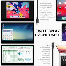 EVOPIX FHD Multi-Touch Portable Monitor | IPS Screen | USB Type-C