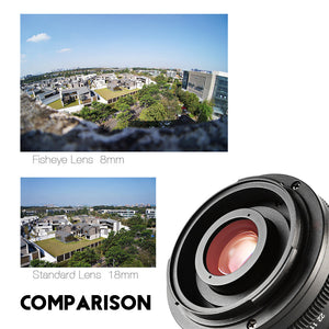 Manual Focus Fisheye Lens