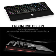 104 Keys RGB Mechanical Keyboard Wired
