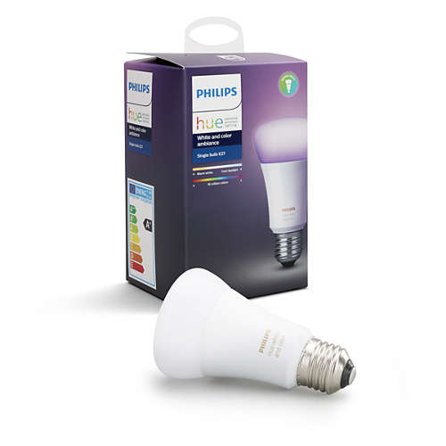 Philips Hue White and color ambiance Single bulb
