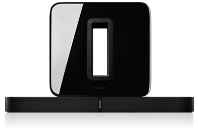 SONOS 3.1 Home TheaterII Package with SUB & PLAYBASE - GAPS