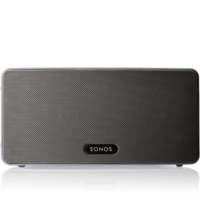 Play3: The mid-size home speaker with stereo sound.