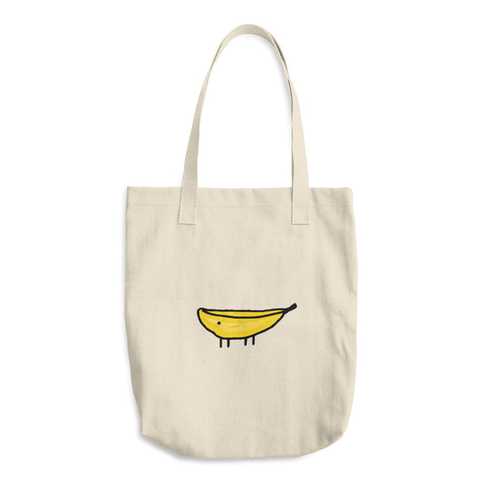 Bananimal cotton tote bag 🍌