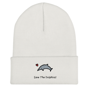 Save The Dolphins! Beanie