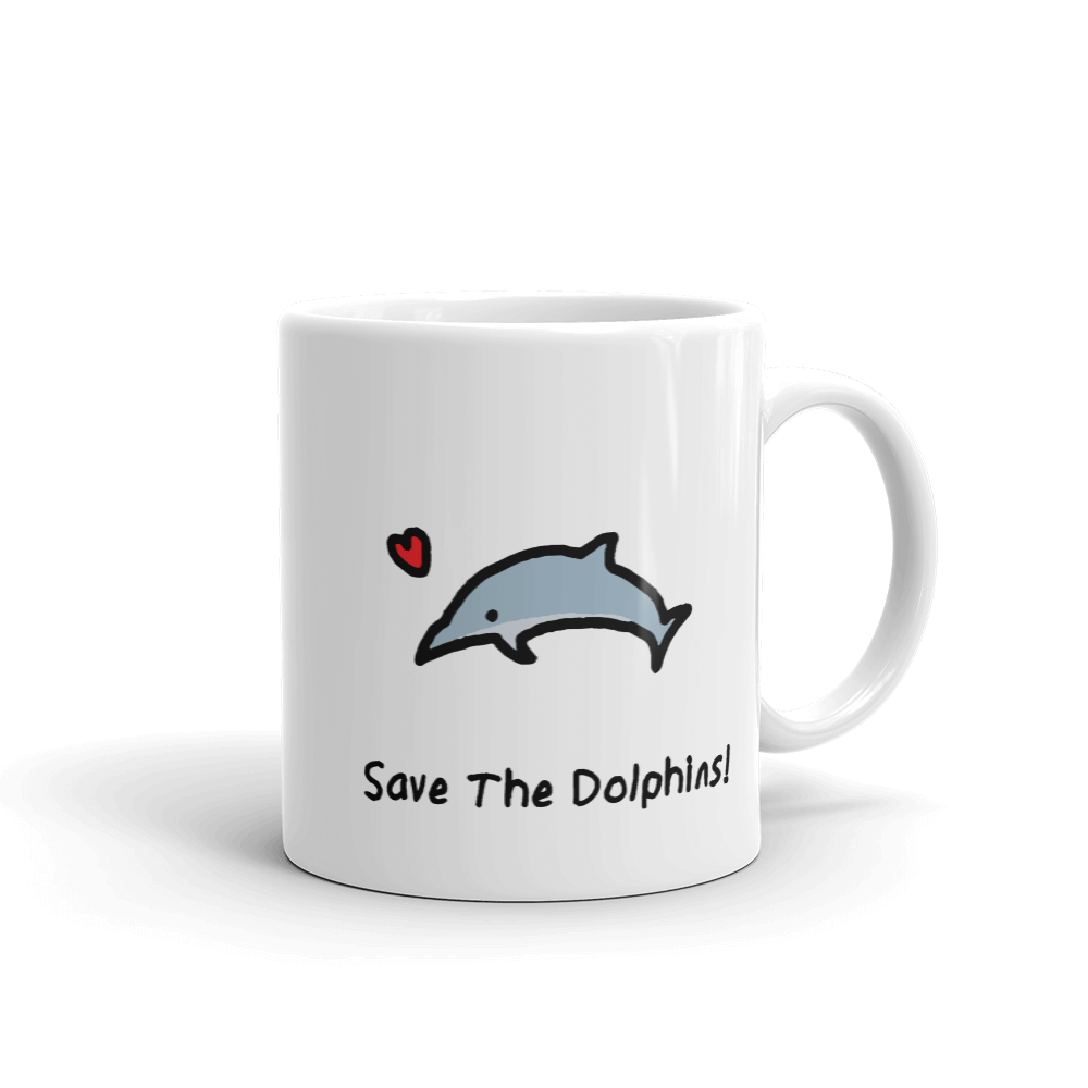 Save The Dolphins! Mug