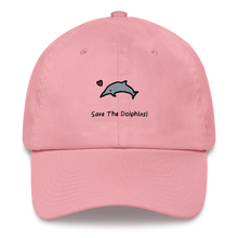 Save The Dolphins! Dad hat