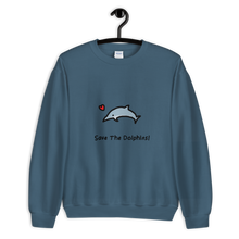 Save The Dolphins! Unisex Sweatshirt