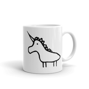 Unicorn facing left mug