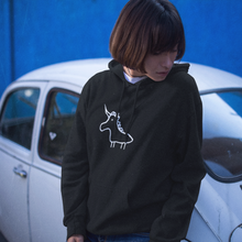 Unicorn Facing Left hoodie