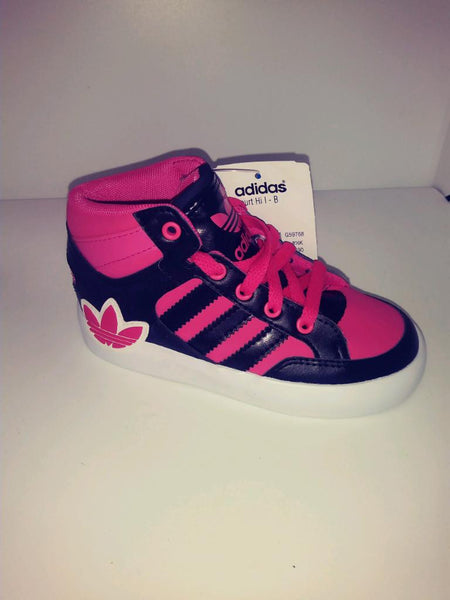 ADIDAS HARD COURT HI I - BIG TREF TODDLER