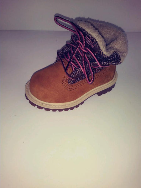 TIMBERLAND RUST WHEAT ROLL DOWN BOOT PETIT'S