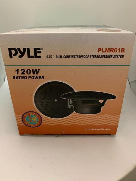 PYLE 6.5 inch Marine speakers 120 watts