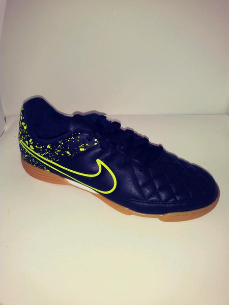 NIKE JE TIEMPO RIO II IC INDOOR SOCCER SHOE GS