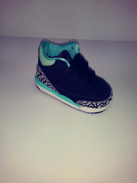JORDAN RETRO 3 TIffany (TD) toddler sizes