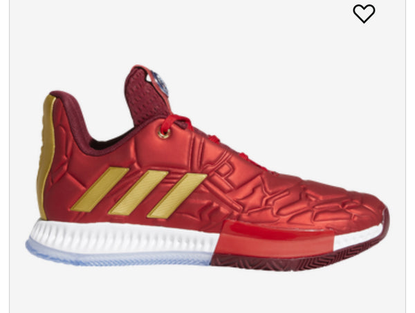 Adidas James Harden Volume 3 Marvel's Ironman Grade school